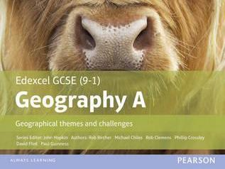 June 2018 Edexcel GCSE 9-1 Geography COMPLETED PAPERS GRADE 9