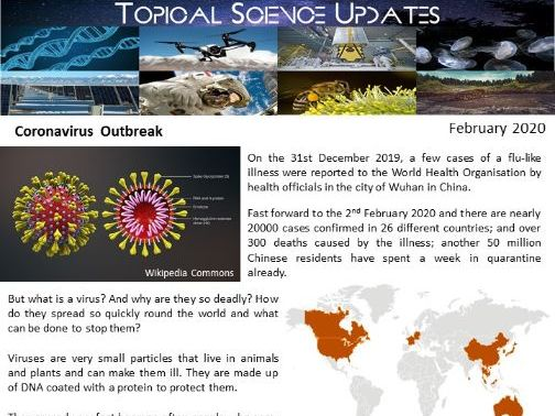 Topical Science Update - February 2020