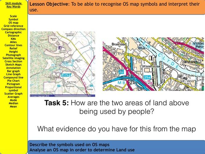 Geographical Skills - AQA GCSE Lesson 1 of 17 in SoW (available for download)