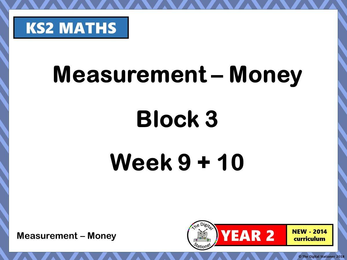 Year 2 - Money - Block 3 - Week 9 & 10 - Corresponds to White Rose