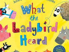 What the Ladybird Heard Blank level questions 1-4