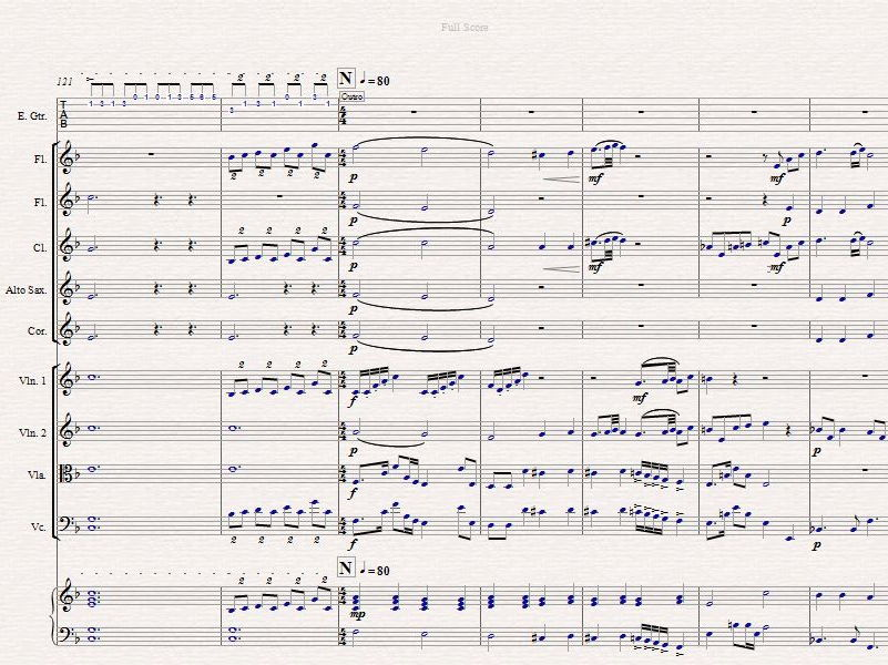 Bohemian Rhapsody arranged for school orchestra - Sibelius file by ...