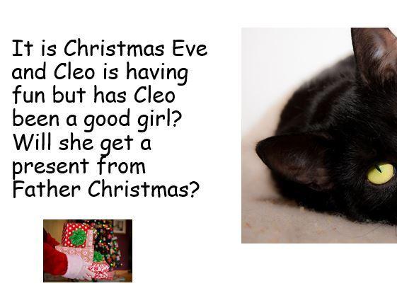 CLEO CAT'S CHRISTMAS EVE FUN
