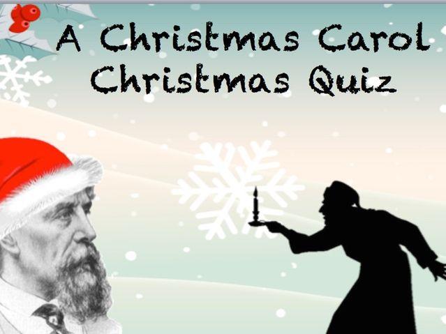 A Christmas Carol Christmas Quiz