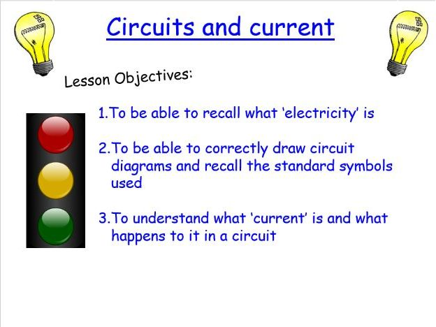 KS3 Circuits and current