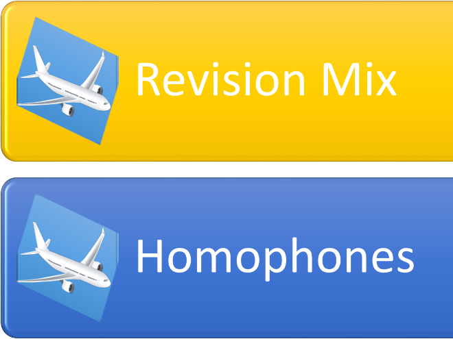 Revision mix : spelling, punctuation and grammar.
