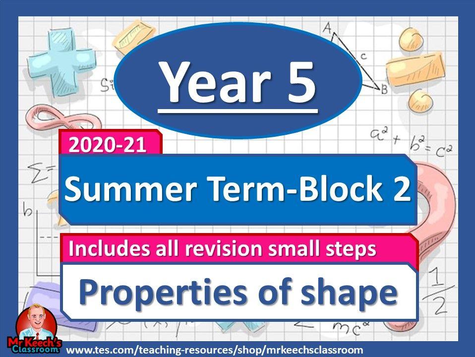 Year 5 - Properties of Shape - Summer Block 2 - White Rose Maths