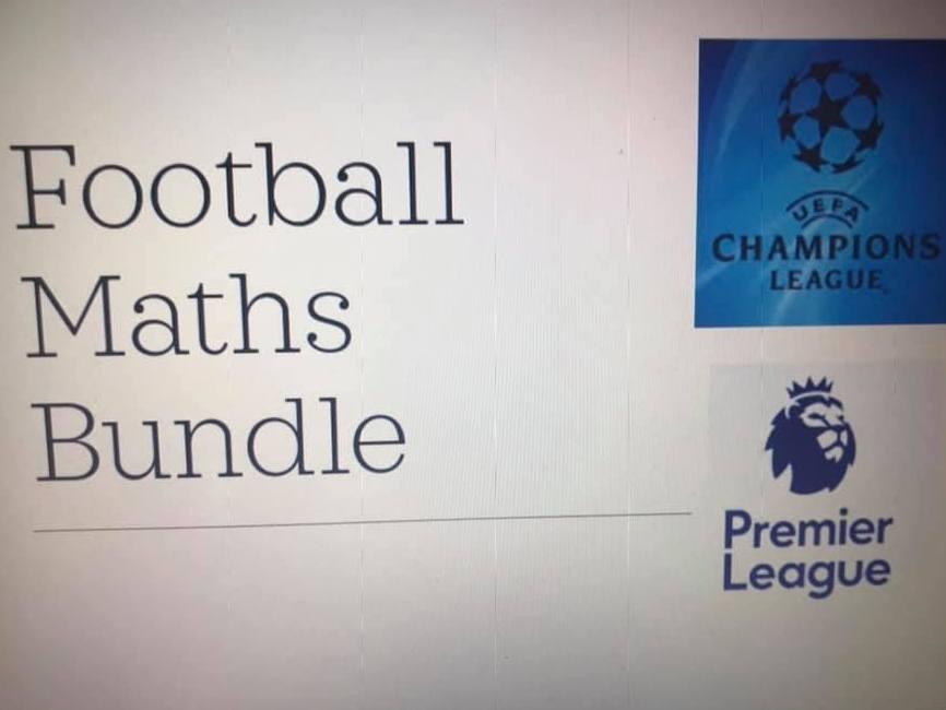Football Maths Collection