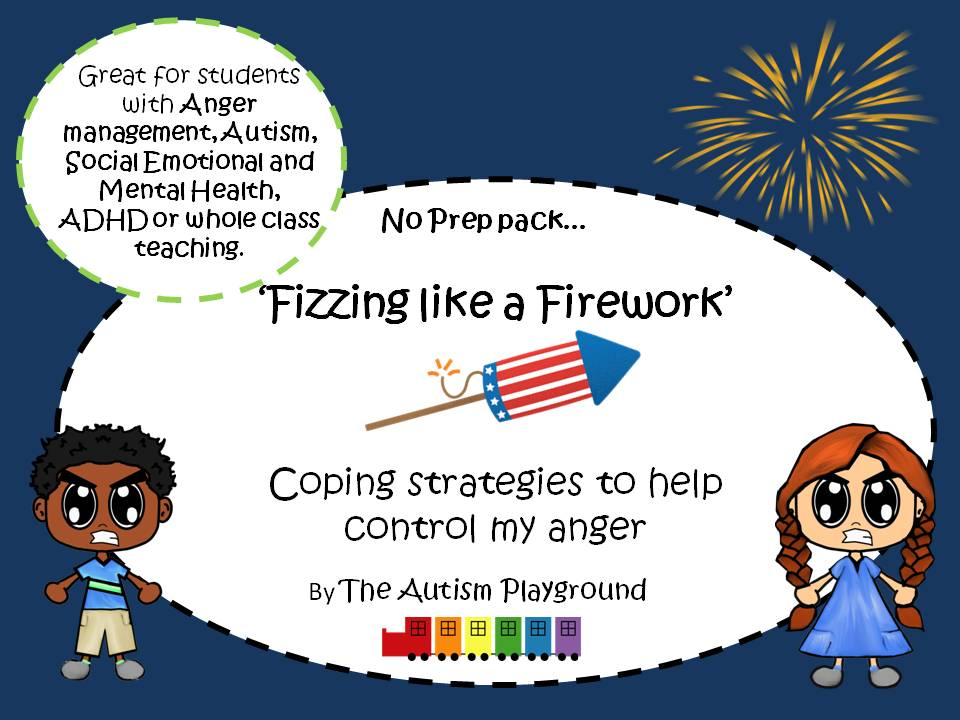 Fizzing like a Firework - Anger Management and Emotional Regulation Lessons and Activities