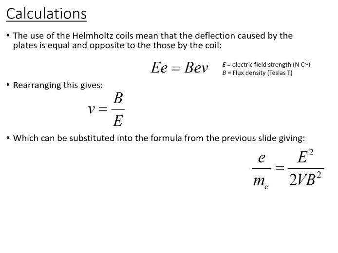 A-Level Turning Points in Physics - Specific Charge of the Electron (PowerPoint & Lesson Plan)