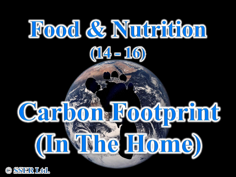 4.5 Carbon Footprint In the Home
