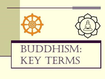 Introducing Buddhism - 47 Key-Terms to make learning and revising easier and enjoyable.