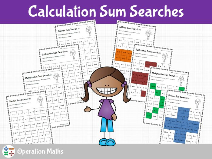 Calculation Sum Searches