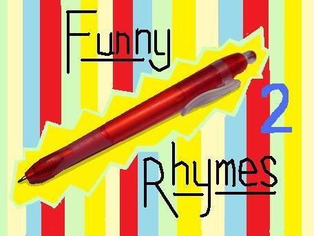 4 More Funny Rhymes (Sheet 2)