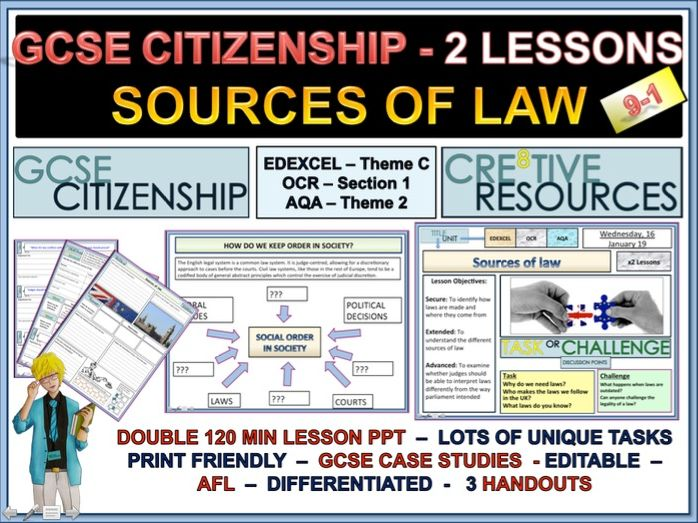 Sources of Law - Citizenship