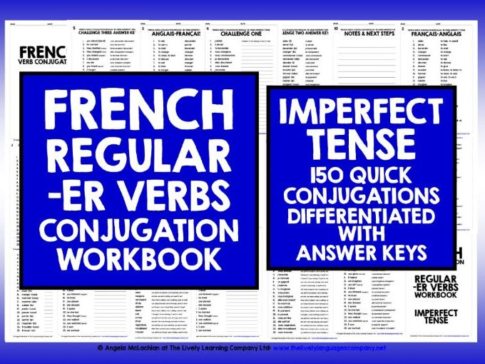 FRENCH IMPERFECT TENSE -ER VERBS