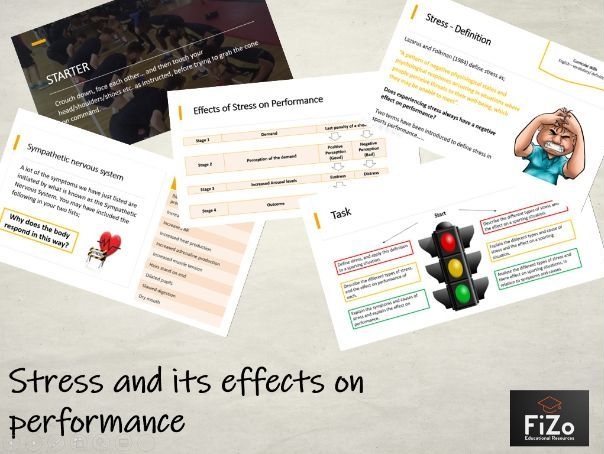 BTEC Sport L3 - Stress &  performance
