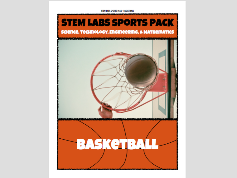 STEM Labs Sports Pack - 10 Basketball March Madness NBA Finals Projects