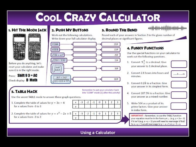 Cool Crazy Calculator!