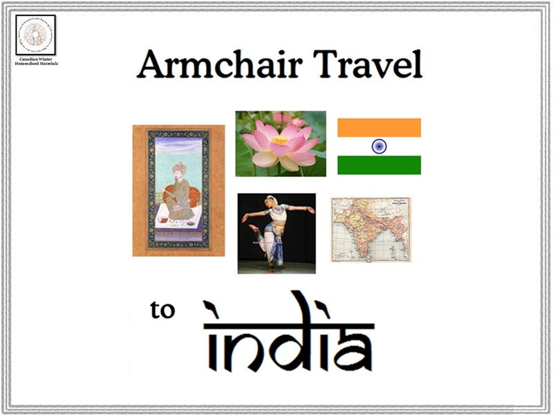 Armchair Travel to India Card Game
