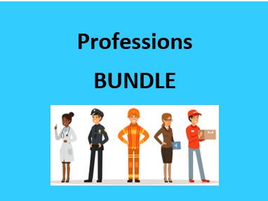 Profissões (Professions in Portuguese) Bundle