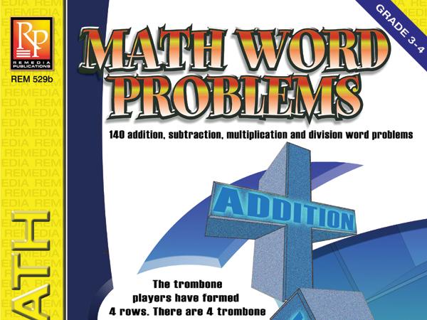 Math Word Problems (Grades 3-4)