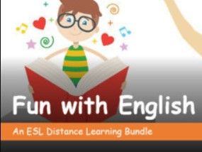 Fun with English.  Distance Learning  Lesson Pack