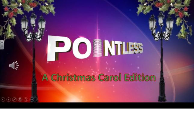 Charles Dickens A Christmas Carol - Pointless Gameshow Edition