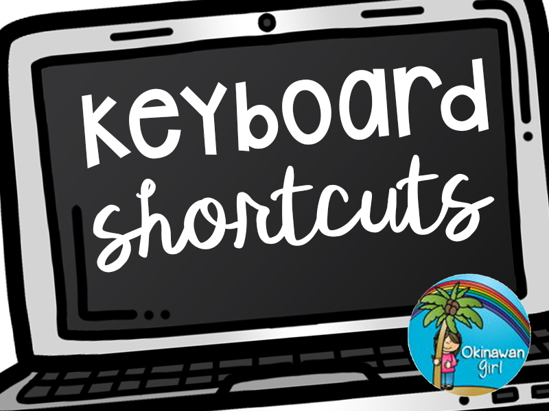 Keyboard Shortcuts Posters for PC Users