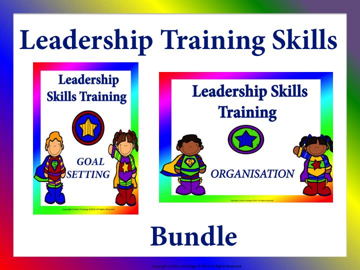 Leadership Skills Training: Goal-Setting and Organisation Bundle
