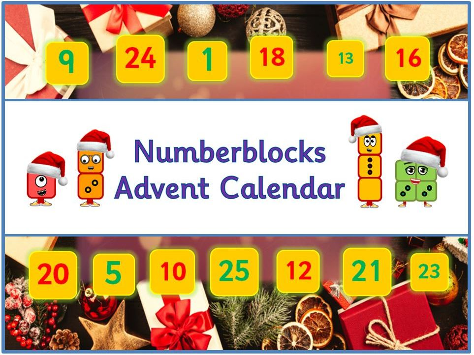 Advent Calendar - Christmas Maths - Number Jokes