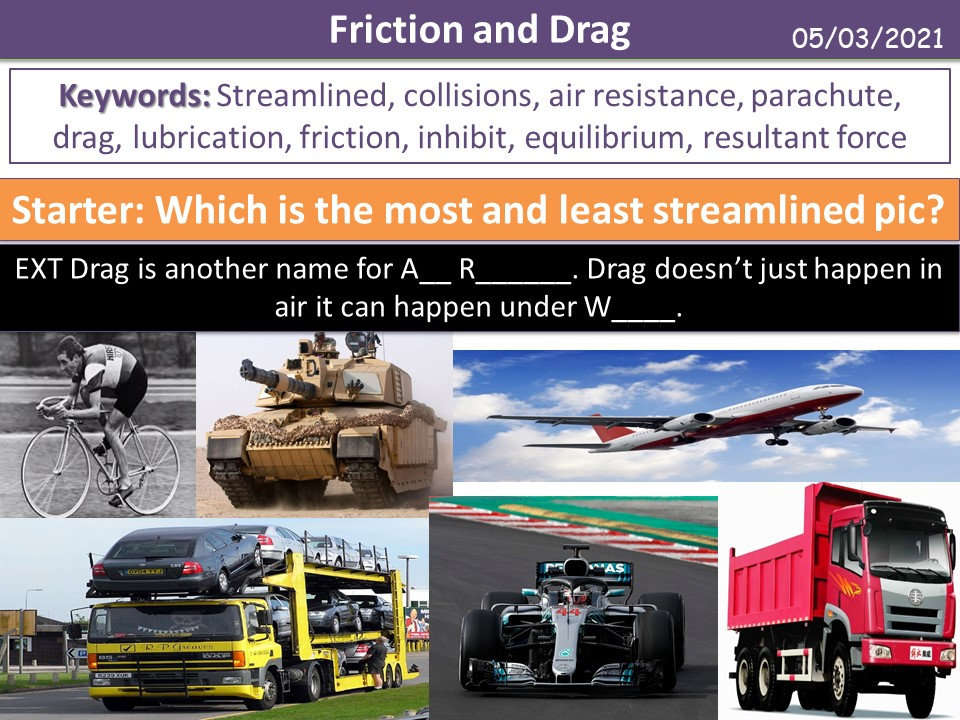 Friction and Drag