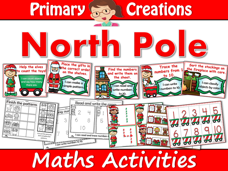 Christmas at the North Pole - Early Years/Nursery Numeracy