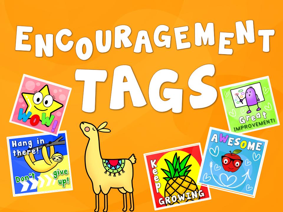 Encouragement Tags