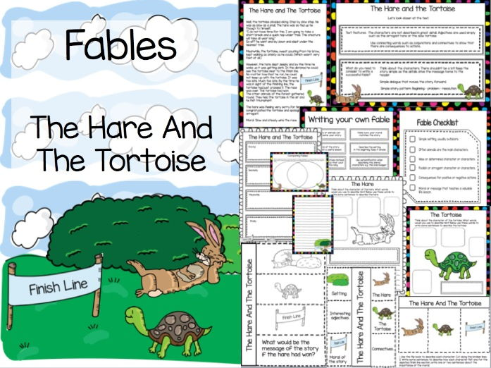 examples of fables written by students