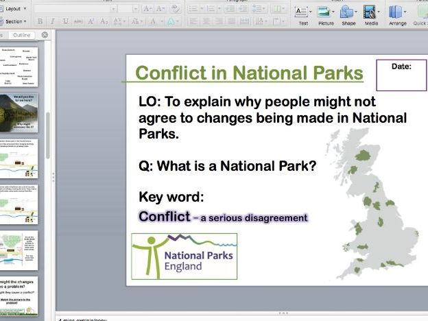 Conflict in National Parks
