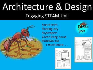 Project based learning: Architecture & Design - STEAM, Biomimicry, KS1, NGSS