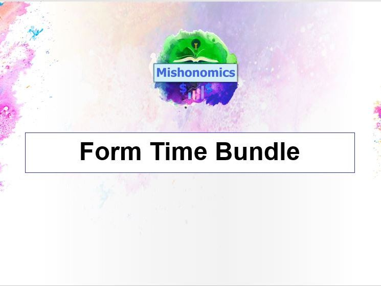 Form Time Quiz Bundle