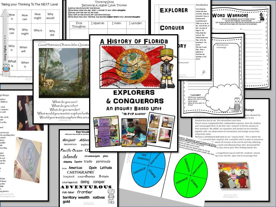 A History of Florida- Explorers and Conquerors An IB PYP Unit of Inquiry