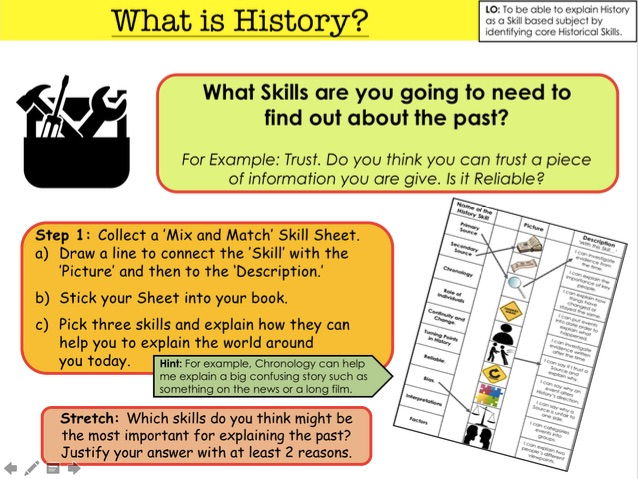 What is History? History Skills Introduction.