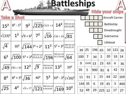 Roots and Powers Battleships