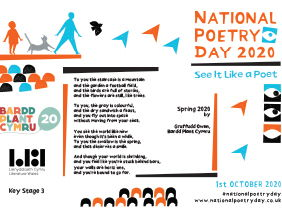 National Poetry Day 2020 Literature Wales Resource - English