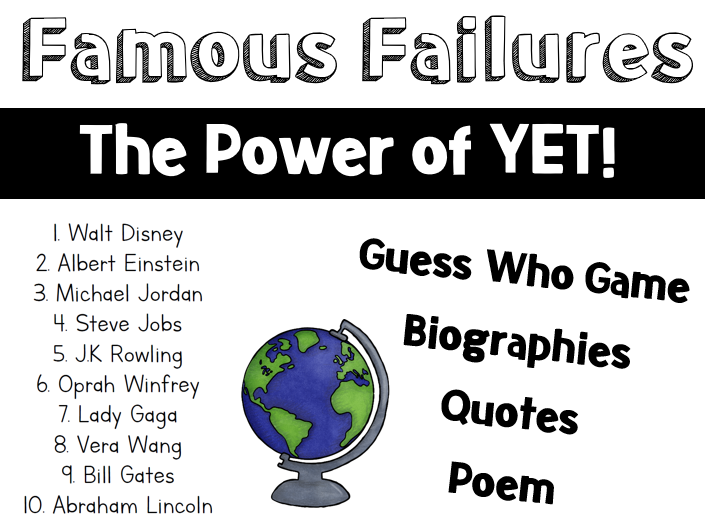 Famous Failures - The Power of YET!
