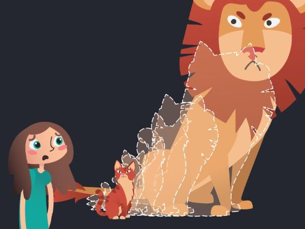 Anxiety Activity- Take Charge of your Lion