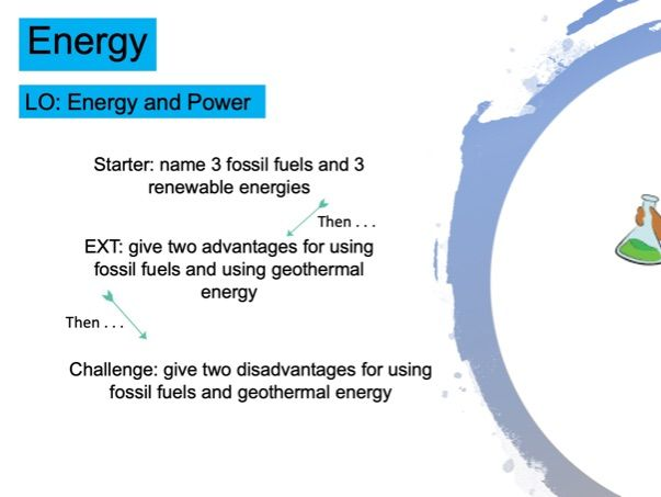 KS3 Energy and Power