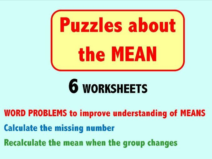 Puzzles about the MEAN