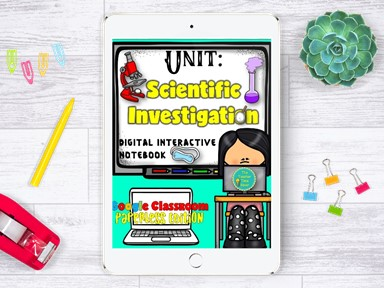 Scientific Investigation Distance Learning Bundle