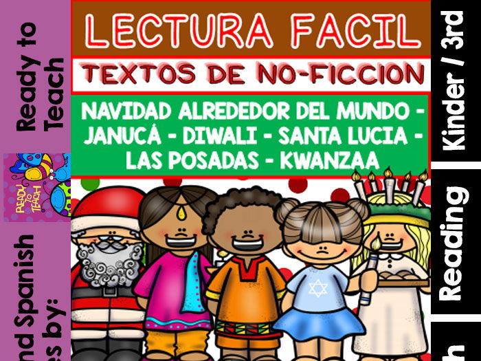 Non-Fiction Texts in Spanish - Christmas/Hannukah/Diwali/Kwanzaa/ Others