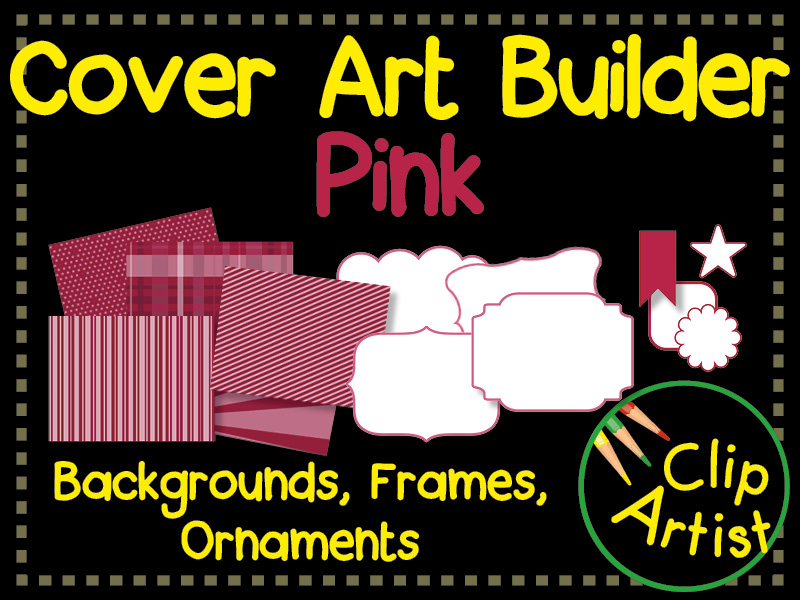 Cover Builder for Authors and Presentations - Pink