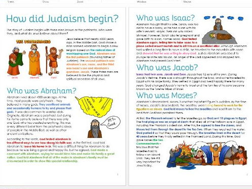 How did Judaism begin? Introduction to Judaism: Patriarchs Task Sheets